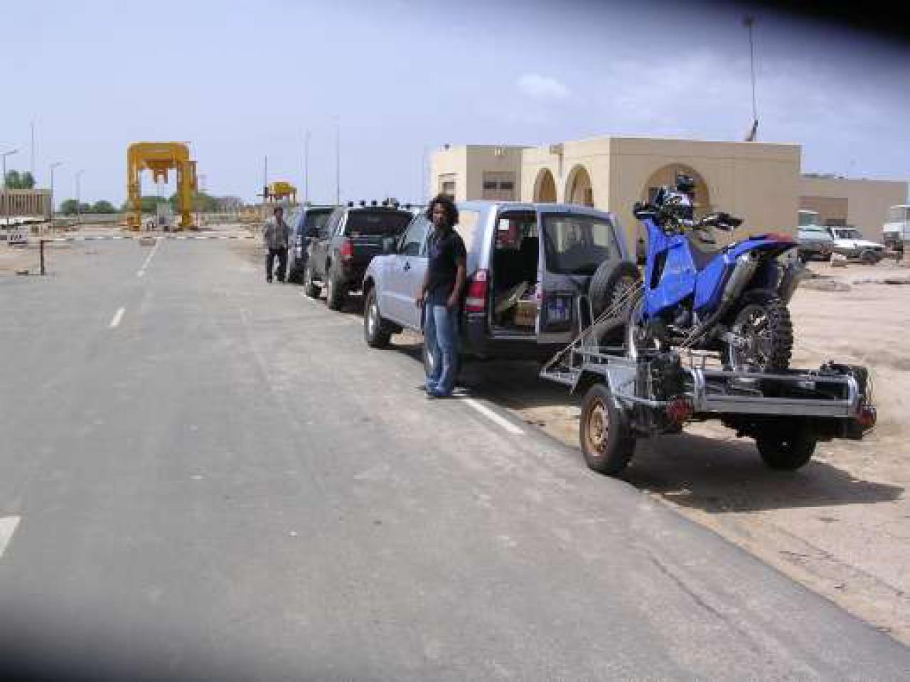 Frontière Mauritanienne